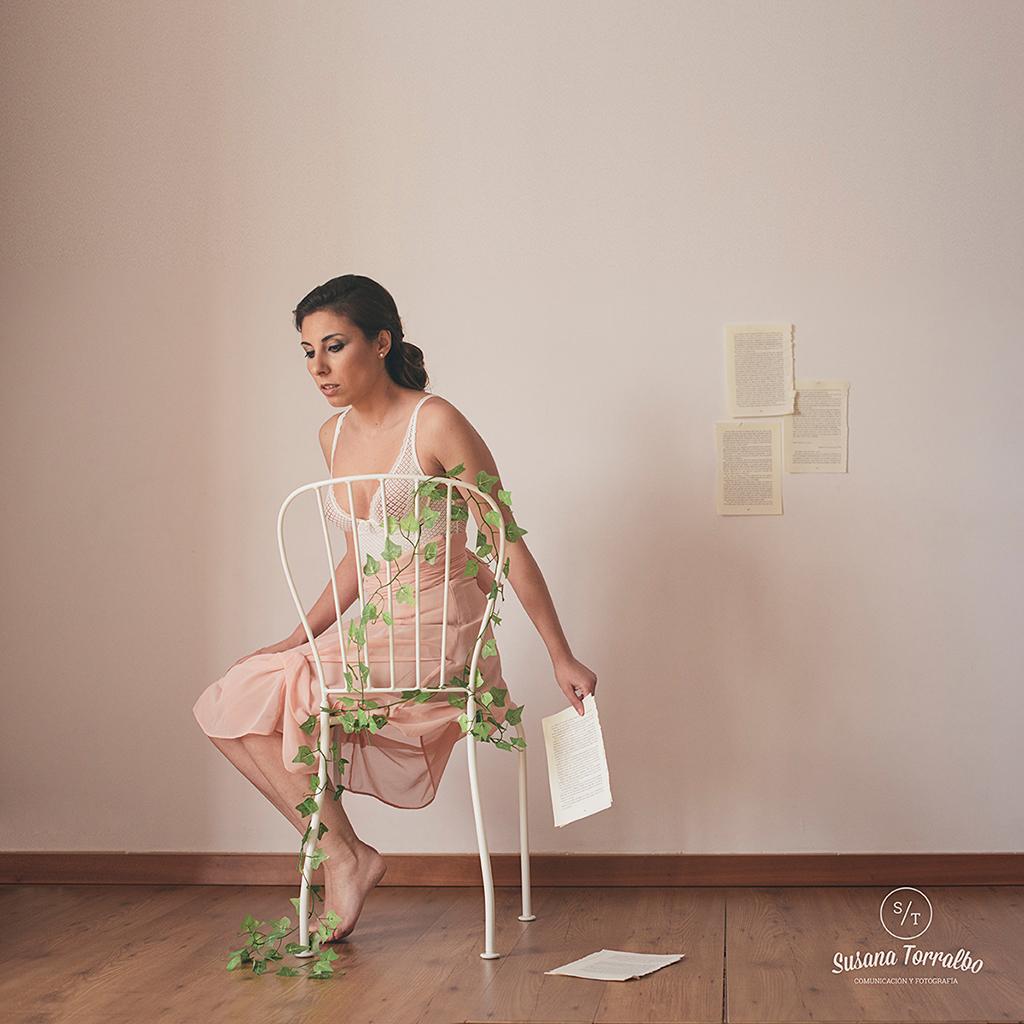 Susana Torralbo autorretrato