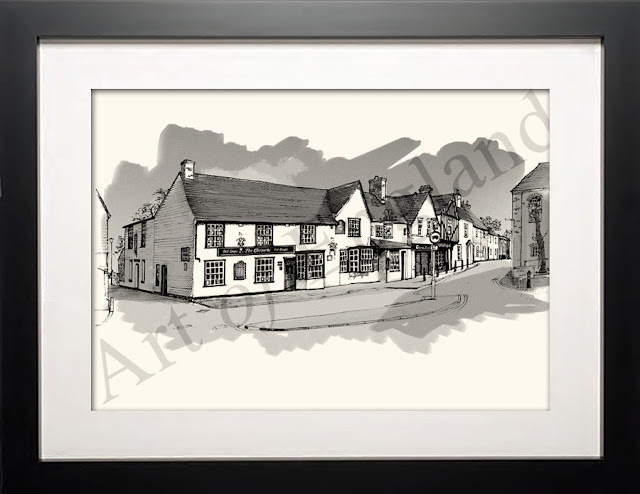 illustration of Chequers Billericay