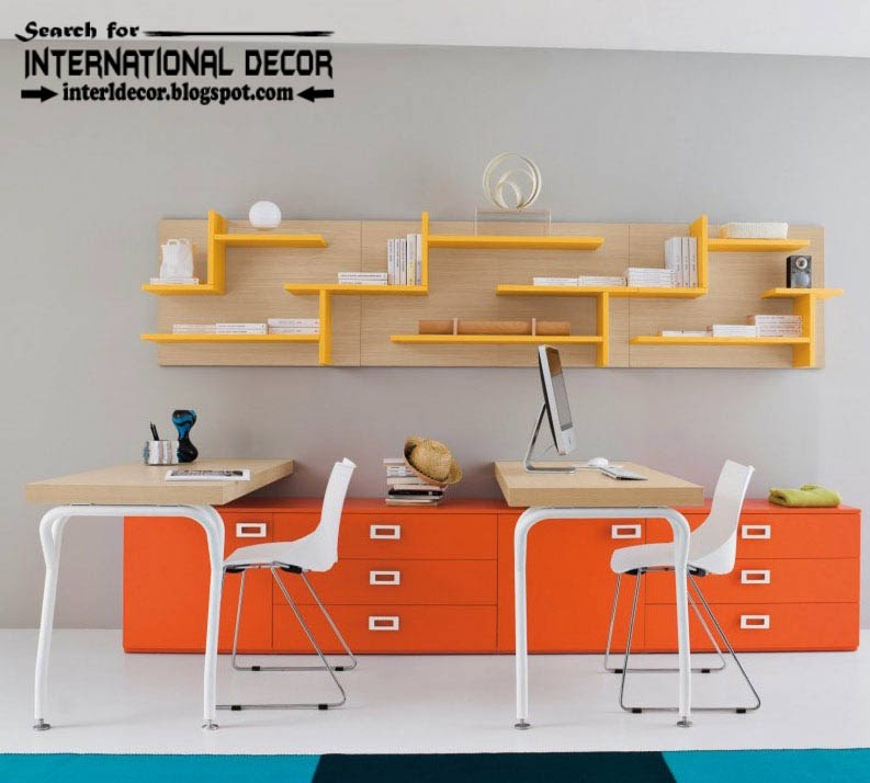 create creative study space for kids room, study space furniture, organizing ideas