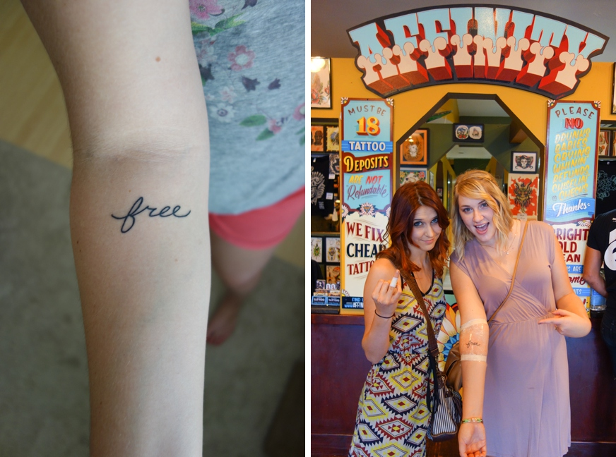 Hill country housewife august 2013 for Sister in law tattoos