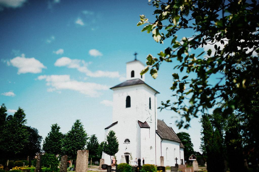 Ysby kyrka bröllop Laholm
