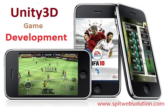 Unity3d Game Development Services - SPITWebsolution