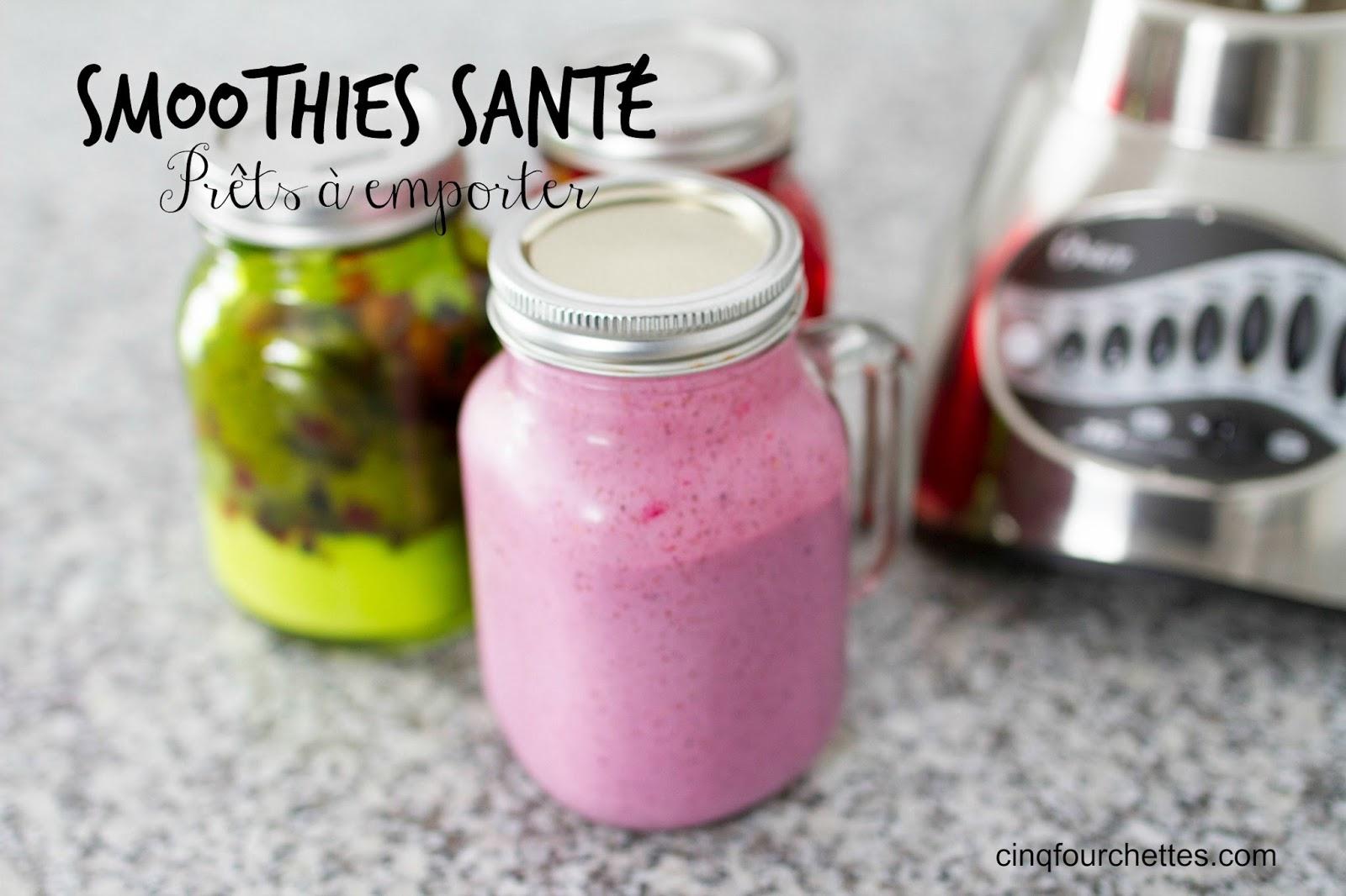 Comment pr parer des smoothies pour la semaine cinq fourchettes - Comment faire des smoothies ...
