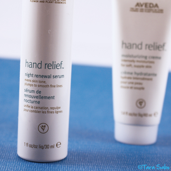 hand relief, night serum, night cream, hands, hand lotion, hand creme, Aveda