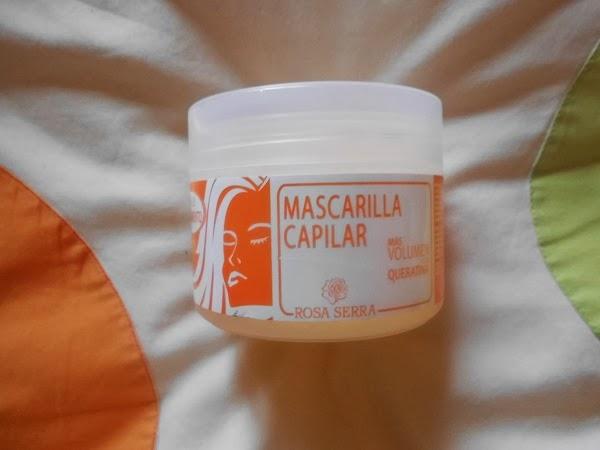 Mascarilla queratina