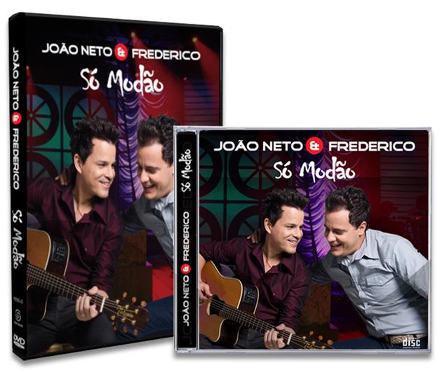 capa so modao630 DVD João Neto e Frederico Só Modão