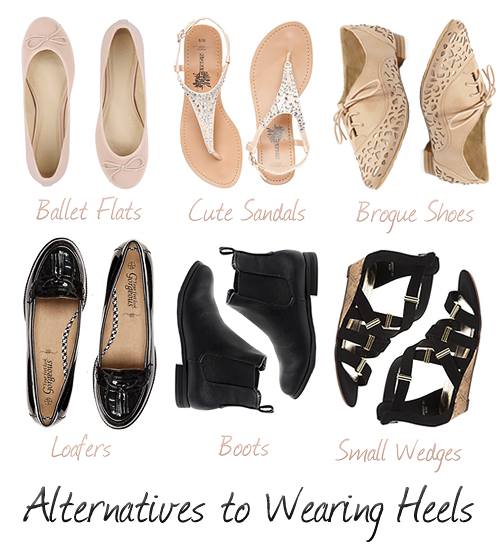 Alternatives To Wearing Heels