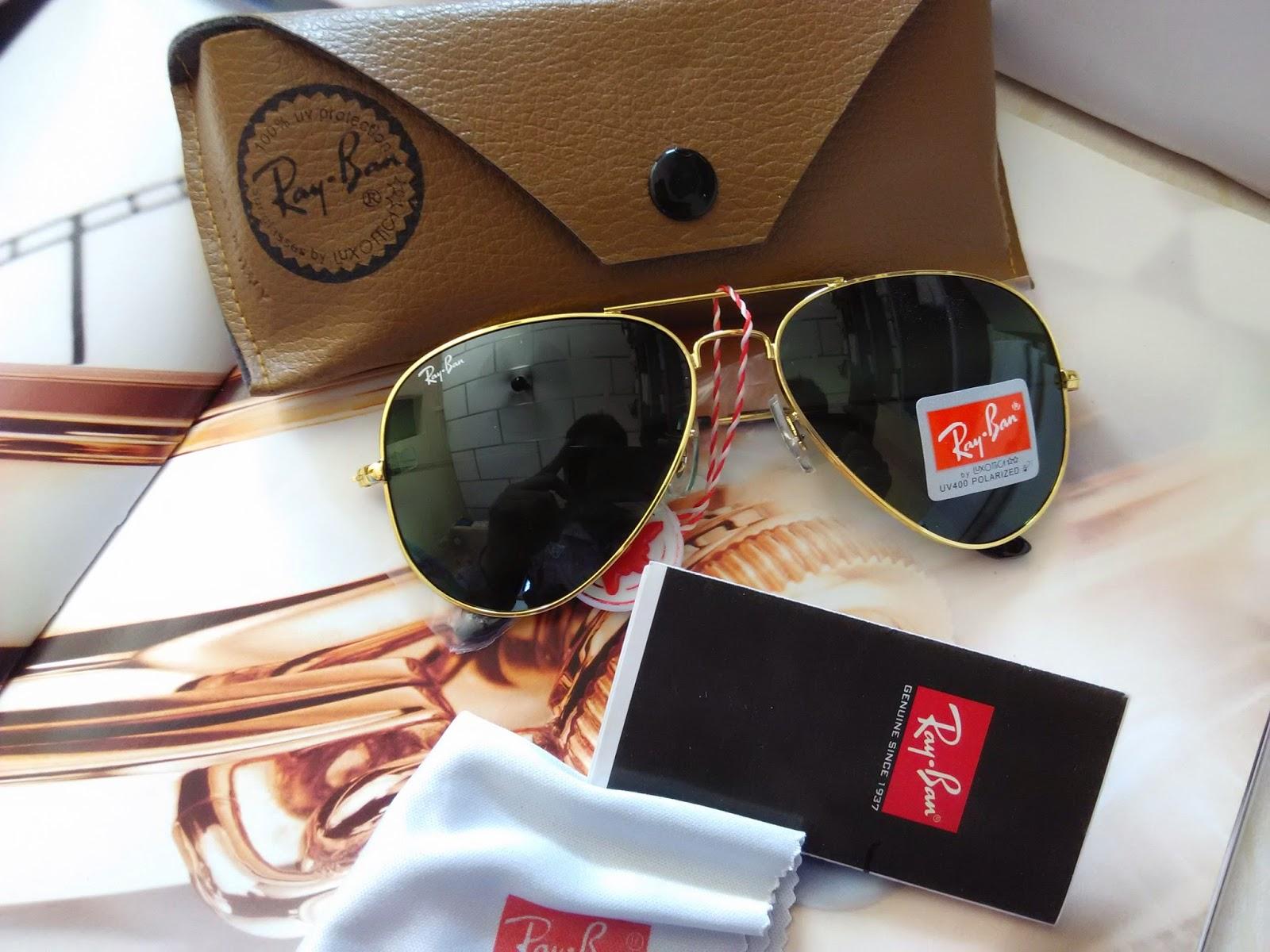 e6bc1166ab Ray ban sunglasses Rb3026 golden rim bottle green lens