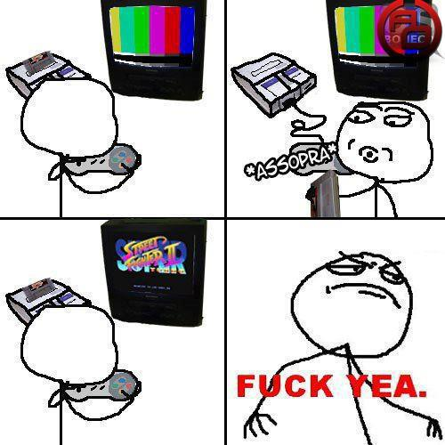 Assoprando O Cartucho De Street Fighter 2