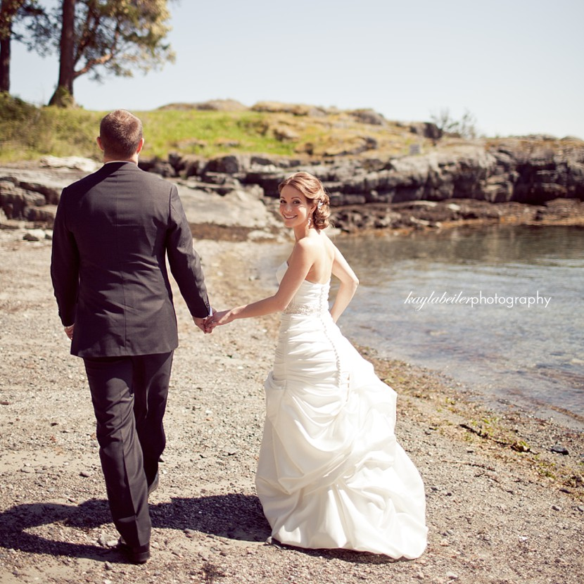sunshine coast BC wedding photo