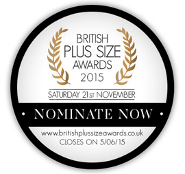 Nominate me for a British Plus Size Award!