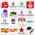 Pacote de logos de partidos políticos do brasil