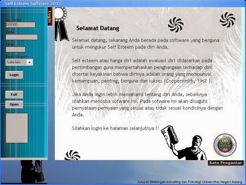 Download Aplikasi Skala Self Esteem Untuk Bimbingan Konseling 3