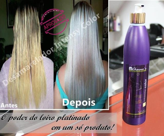 matizar cabelo loiro