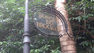 Placa do Bosque do Brooklin