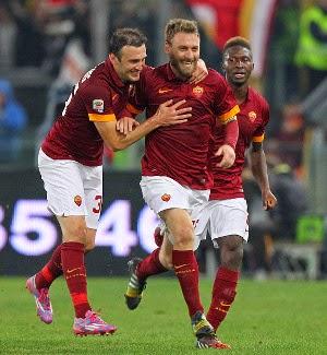 Juventus Semakin Menjauh Dari AS Roma