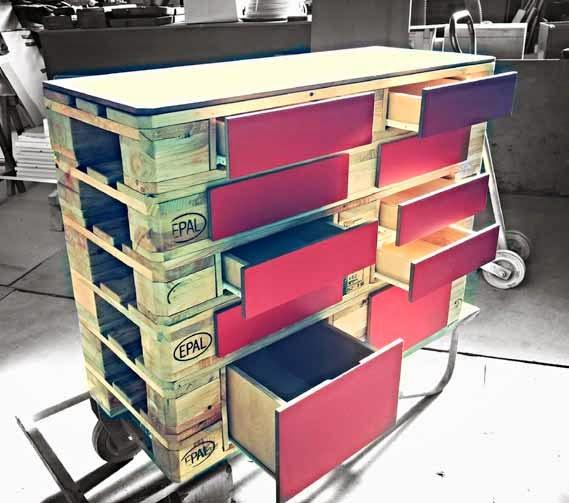 Arredo e design fuorisalone 2014 conlegno presenta la for Pallet arredamento