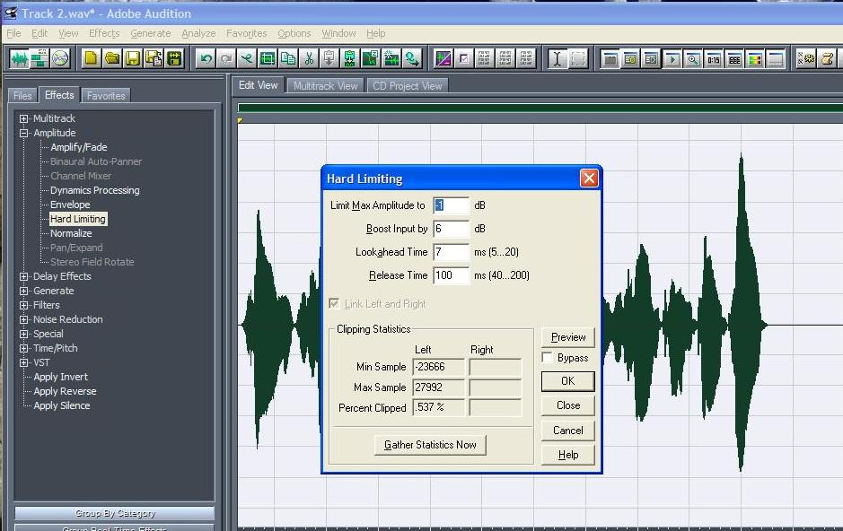 Adobe Audition 1.5 Mix Resimli Anlat?m 1