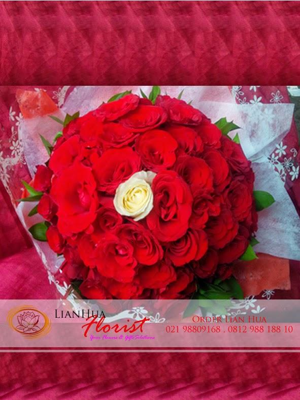 jual buket bunga mawar, toko karangan bunga, toko bunga jakarta utara,