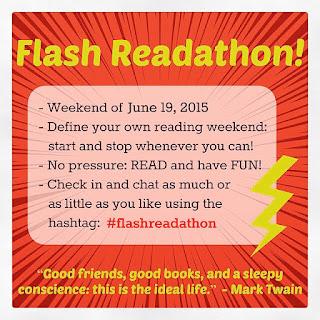 #flashreadathon weekend June 19-21