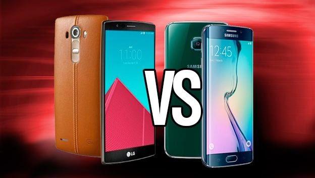 LG G4 vs Samsung Galaxy S6 Edge, mana yang lebih bagus?