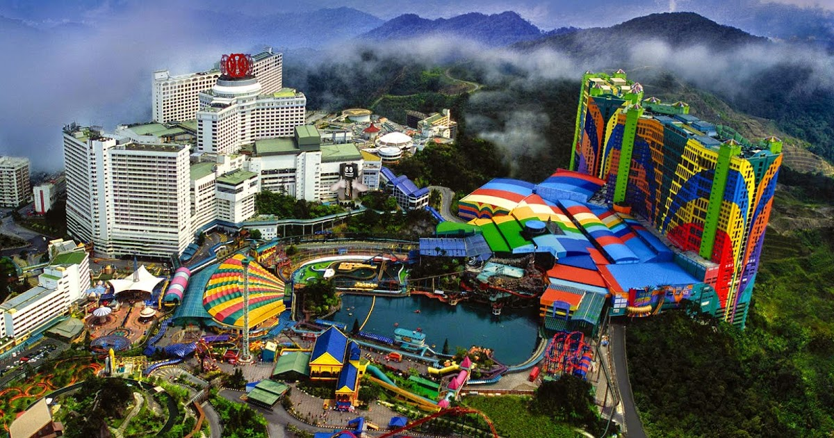 The most important tourist attractions in Genting