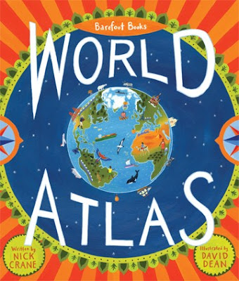 Barefoot Books World Atlas, children's books