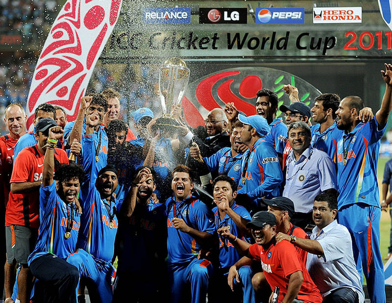 world champion team india