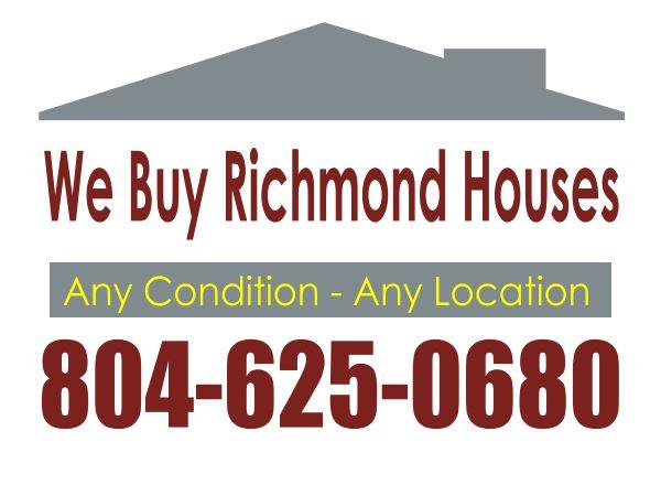We Buy Richmond VA Houses