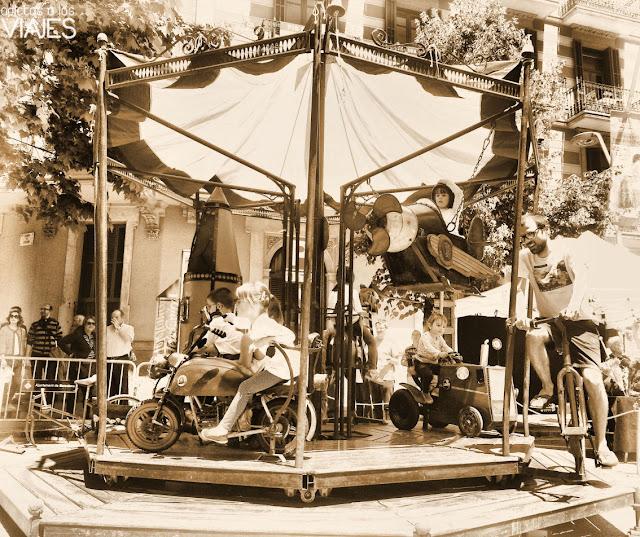 tiovivo fira modernista barcelona