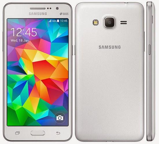 Samsung Galaxy Grand Prime, Tampilan Samsung Galaxy Grand Prime, Ponsel selfie kamera depan 5 mp