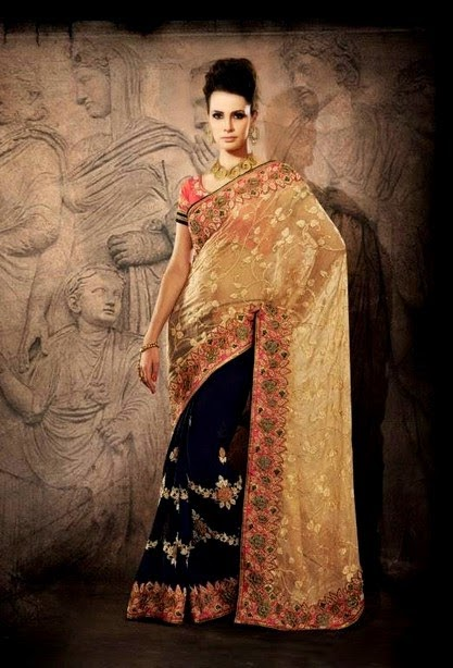 Best Night Party Wear Saree
