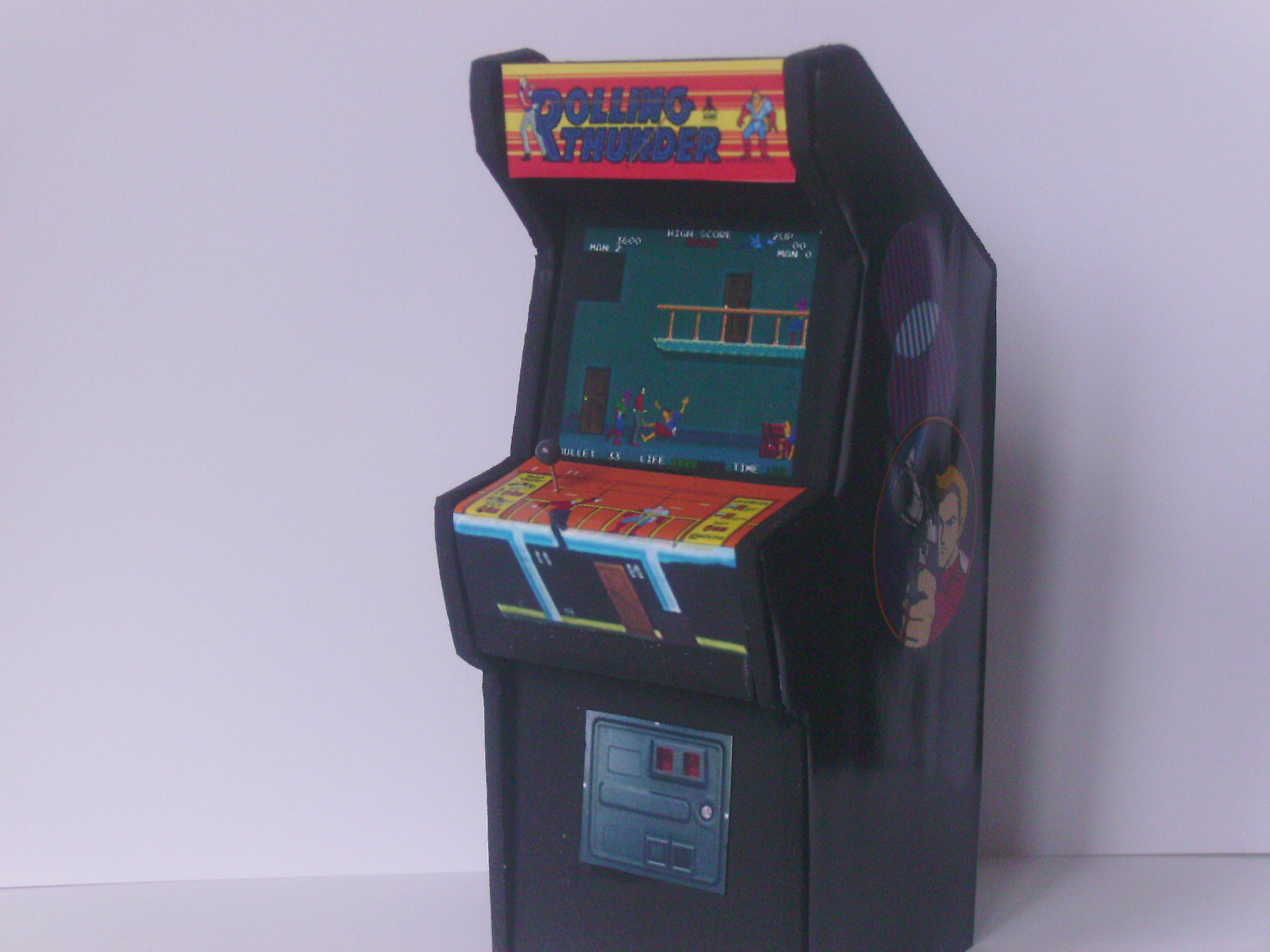 rolling thunder arcade machine