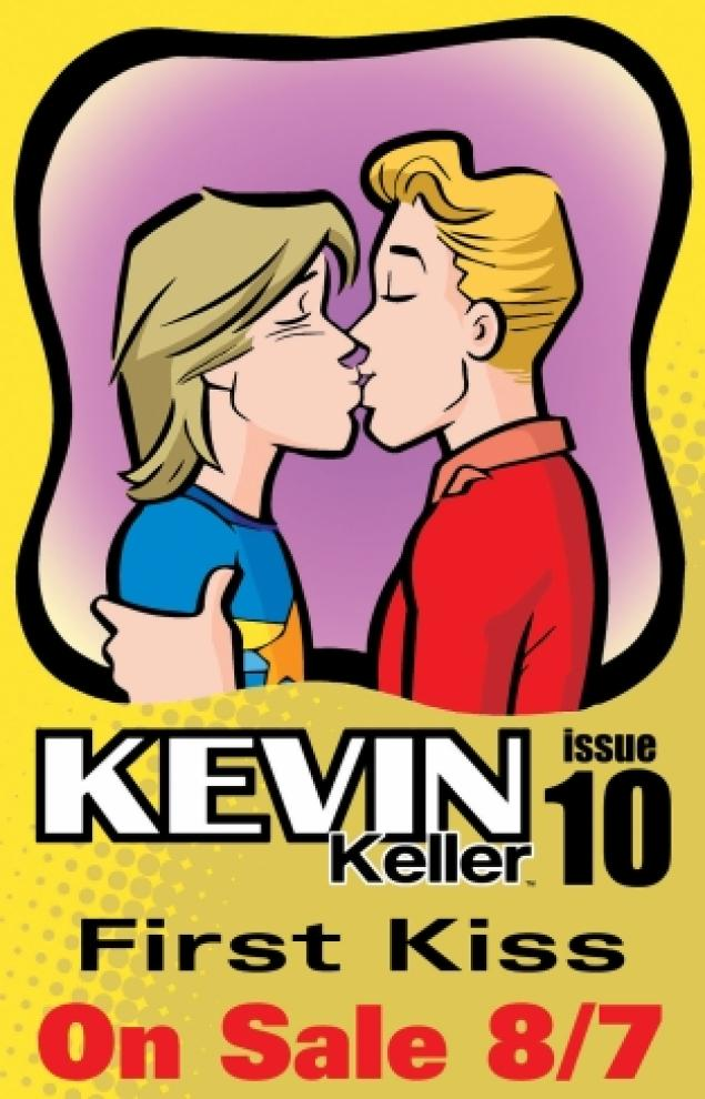 Maybe It 39 S Just Me Archie Comics 39 Kevin Keller Gets His First Kiss