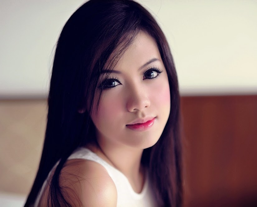 The brilliant beauty of a Thai girl: Nong Nam