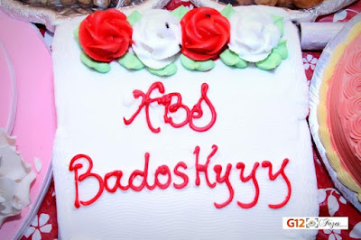 Eniola Badmus birthday cake