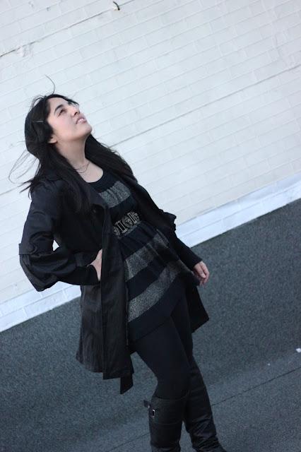Dark Winter Outfit