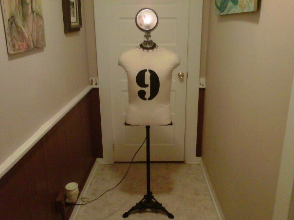 Mannequin Lamp the oasis of the bozart