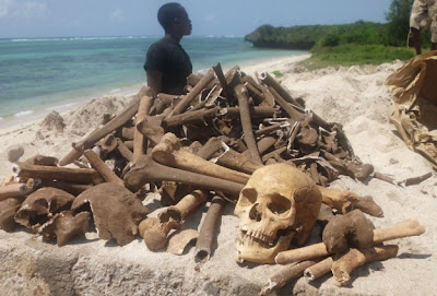 Possible 'slave' skeletons found on Kenyan coast