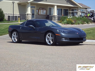 Get Your Pre-Owned Corvette at Purifoy Chevrolet