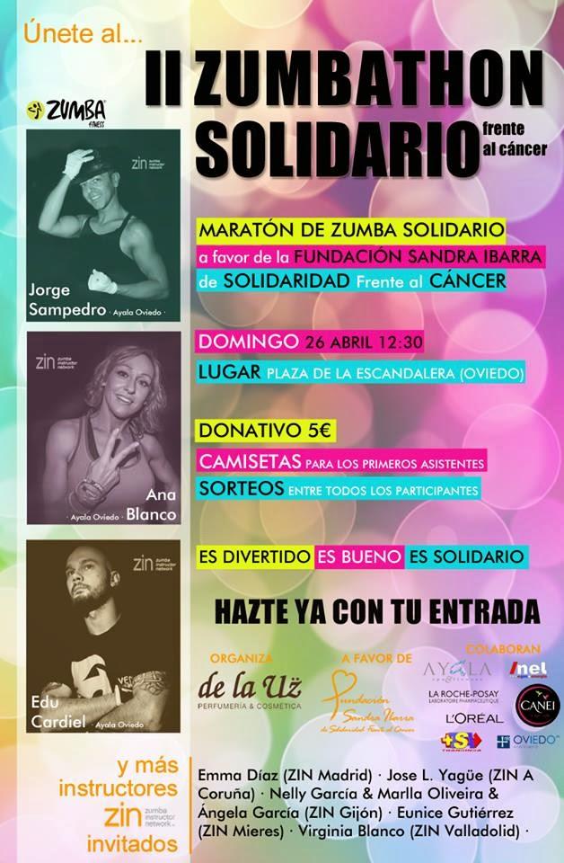 """II Zumbathon Solidario """"de la Uz"""" en Oviedo"""