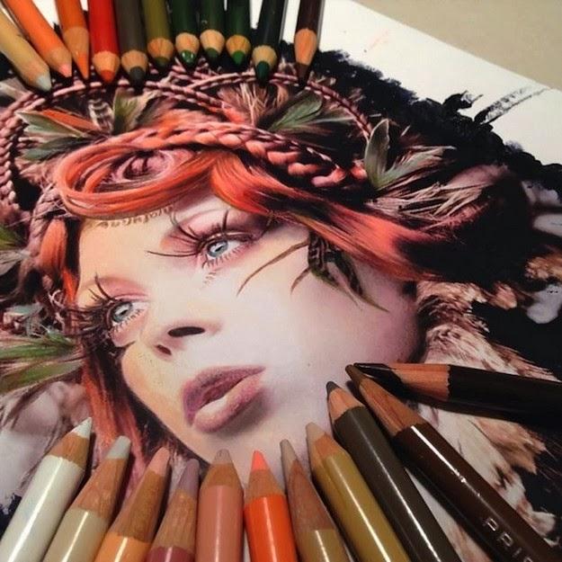 photorealistic drawings