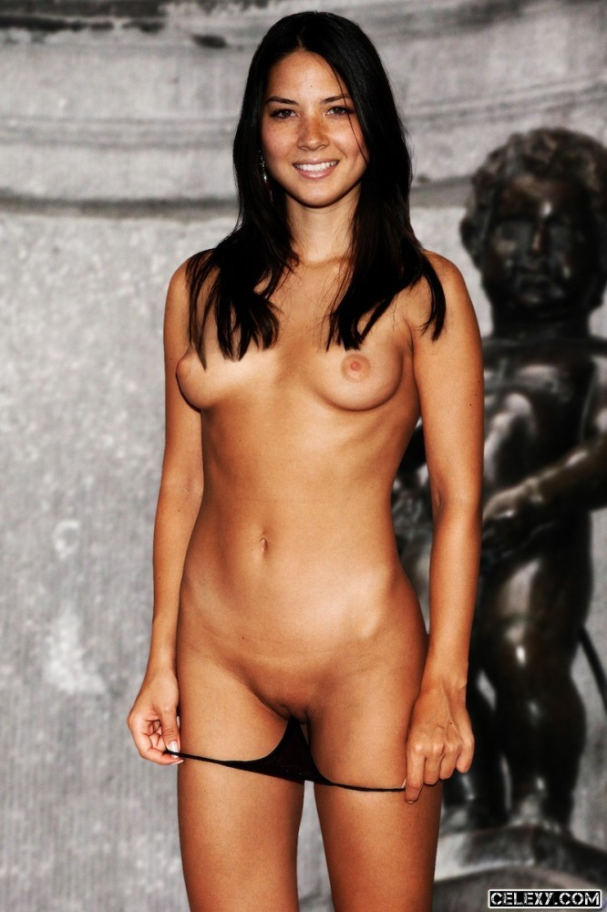 Olivia Munn Topless Showing Her Wonderful Breasts
