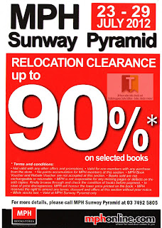 MPH Relocation Clearance Sale 2012