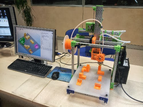 Diy 3d printing 3dprn printer from italy with integrated lan interface and web management - 3d printer italia ...