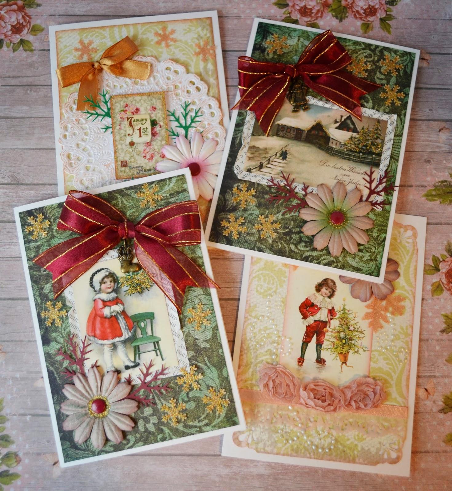 Старые открытки что сделать 5