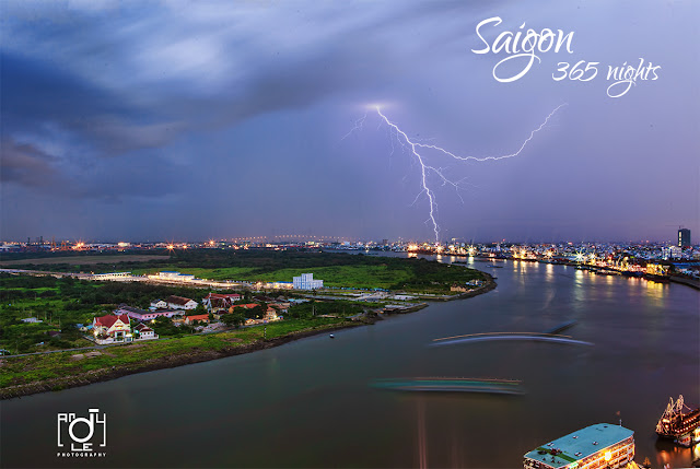 Saigon by night