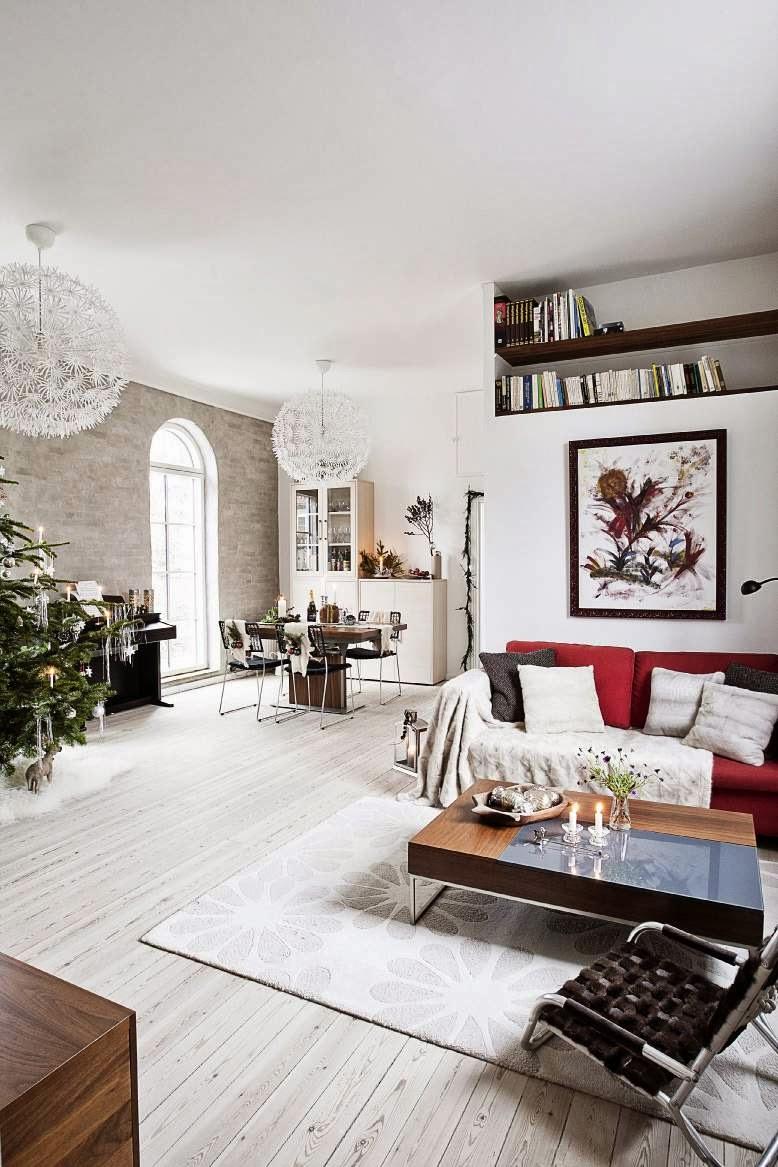 Decor me una vivienda italo danesa lista para la navidad for Decoracion danesa