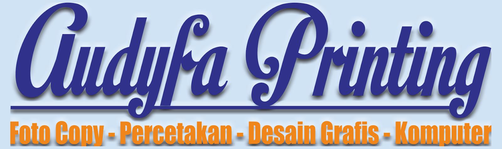 Audyfa Printing   Brosur, Branding, Spanduk, Sticker, Desain Grafis