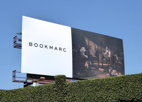 Bookmarc Dog book club billboard